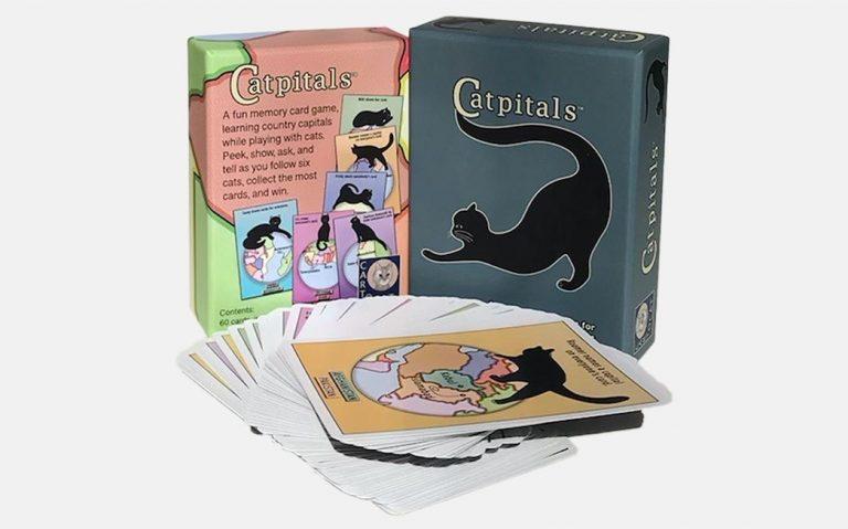 Cartocat Catpitals Card Game Set