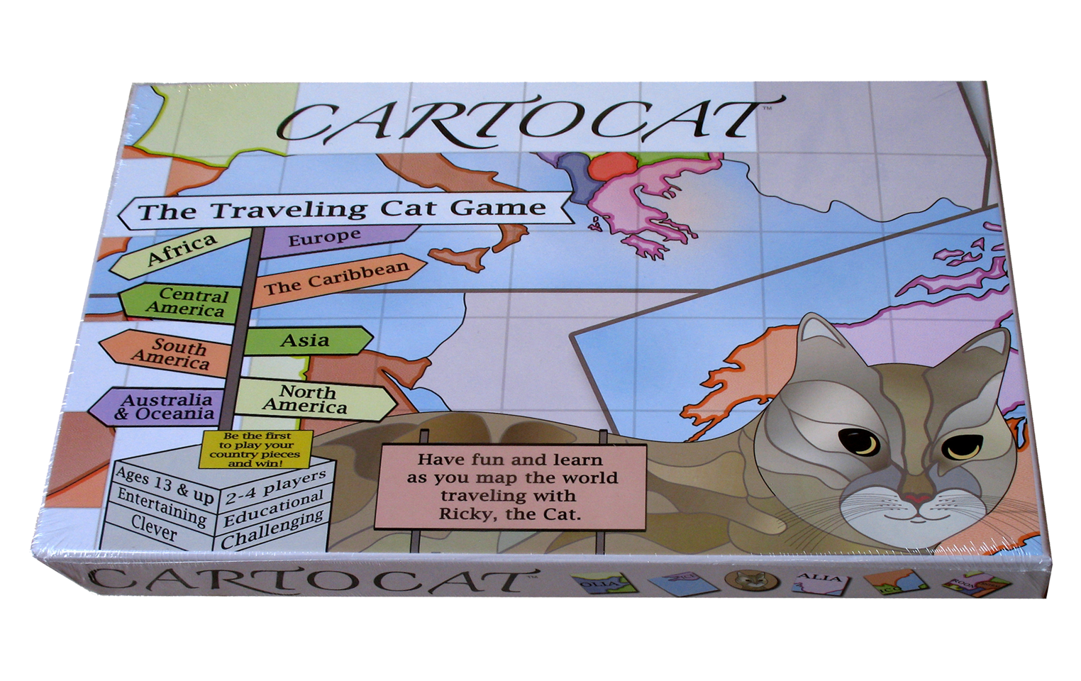 Cartocat The Traveling Cat Game Buy Now